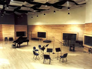 Galaxy Studios, Mol, Belgium - Main Recording Hall