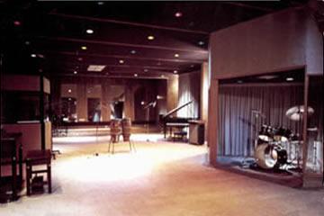 Recording Complex interior, Brazzaville, Congo