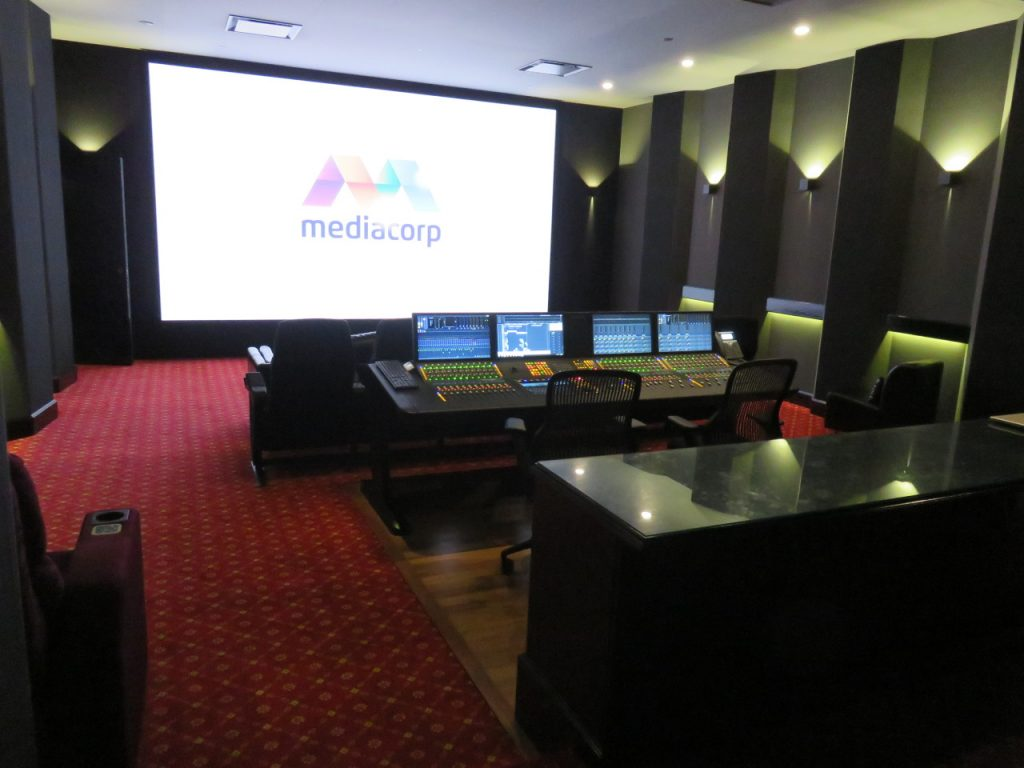 SINGAPORE: MediaCorp Film Mixing Theatre